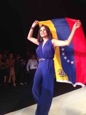 Olga Bolaños en Miami Fashion Week