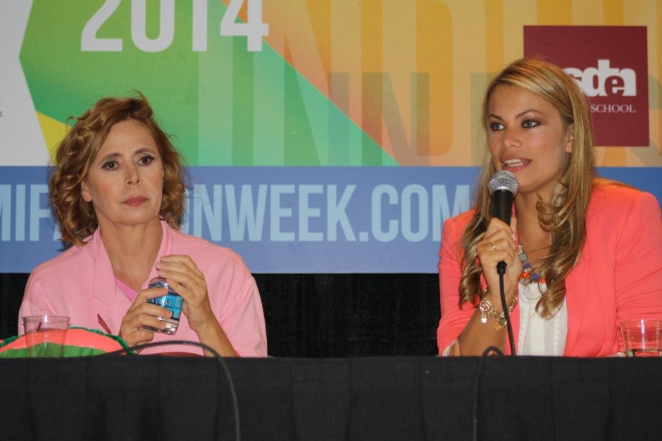 Ágatha Ruiz de la Prada y Carla Goyanes