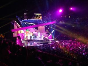Y la experiencia VIP por supuesto incluyó unos pases para ir a ver Premios Tu Mundo en Vivo.