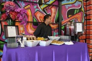 Durante el evento nos ofrecieron ricos y nutritivos jugos de frutas naturales, así como otros snacks.