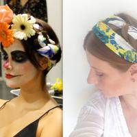 Día de Muertos:  Maquillaje y peinado de catrina