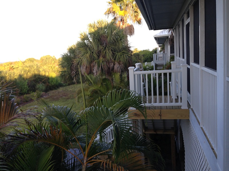 Así son las casitas en donde nos quedamos durante nuestra estancia en Palm Island.