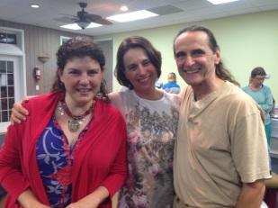 Ana, Annick y Chuck