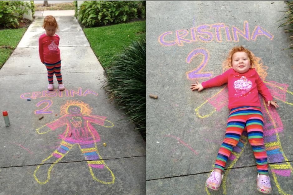 Cristina 2 anos