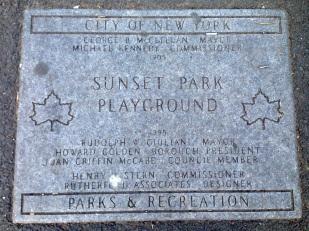 El playground de Sunset Park cumple este año ¡110 años!