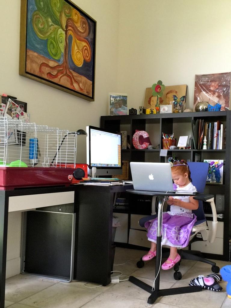 Princesas que trabajan