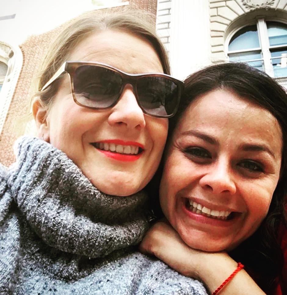 Mariana Martínez Estens y yo